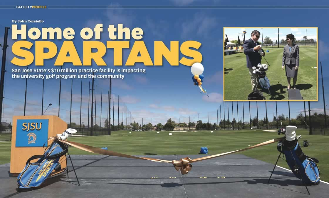san jose state golf netting system