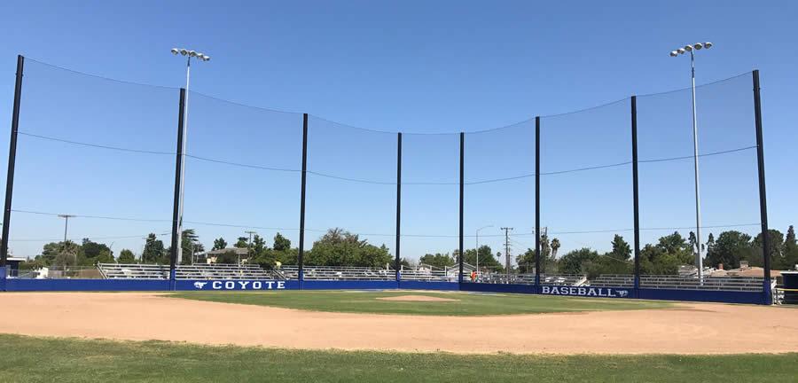Baseball Netting Coastal Netting Systems