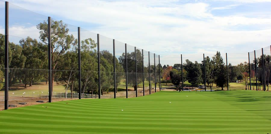 Driving Range Netting Coastal Netting Systems